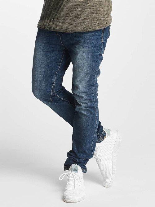 Sky Rebel Straight Fit Jeans Elay Jogger blau
