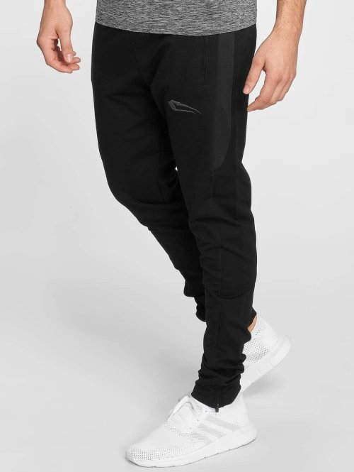 Smilodox Jogginghose Smooth schwarz