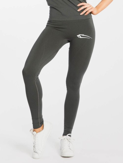 Smilodox Legging Bold High Waist grau