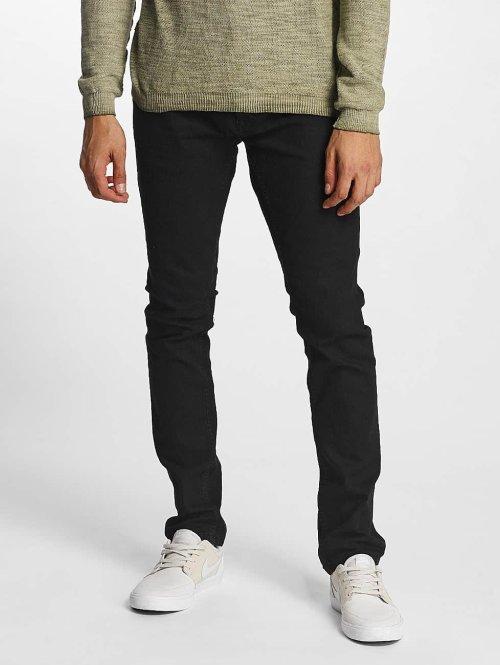 Solid Slim Fit Jeans Joy zwart