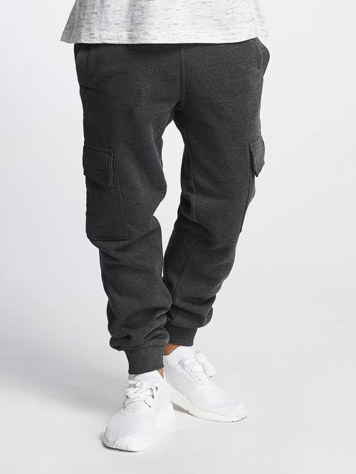 Southpole Jogging Basic Fleece Cargo gris