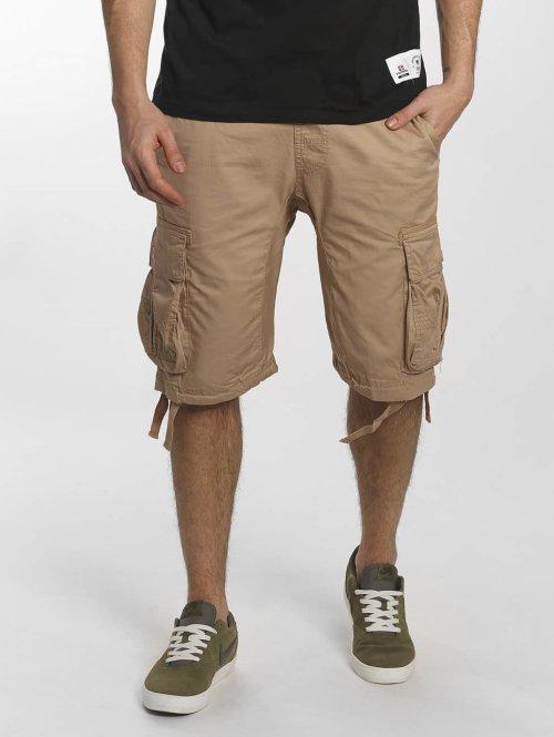Southpole Pantalón cortos Jogger caqui