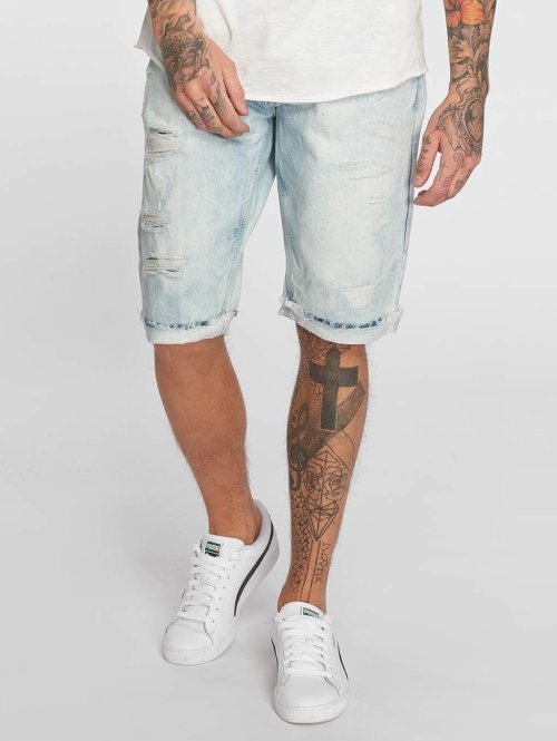 Southpole Shorts Denim blå