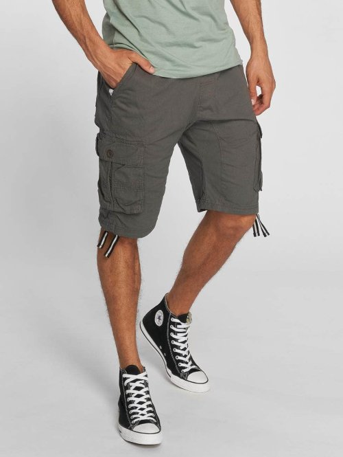 Southpole Shorts Jogger grau