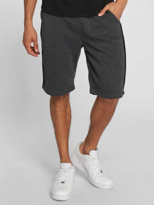 Southpole Shorts Fleece grau