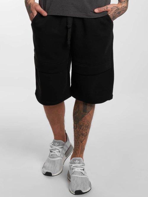 Southpole Shorts Anorak Fashion Fleece schwarz