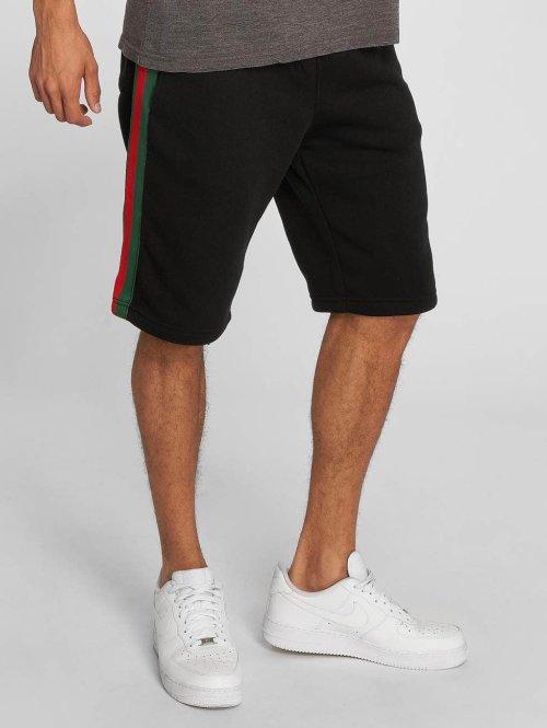 Southpole Shorts Fleece schwarz
