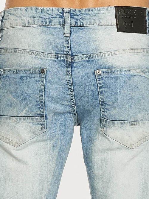 Southpole Skinny Jeans Ripped Stretch Denim blau