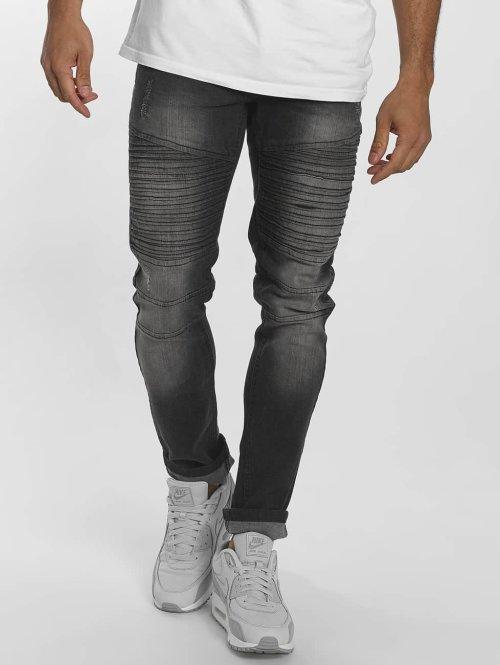Southpole Slim Fit Jeans Menelaos zwart