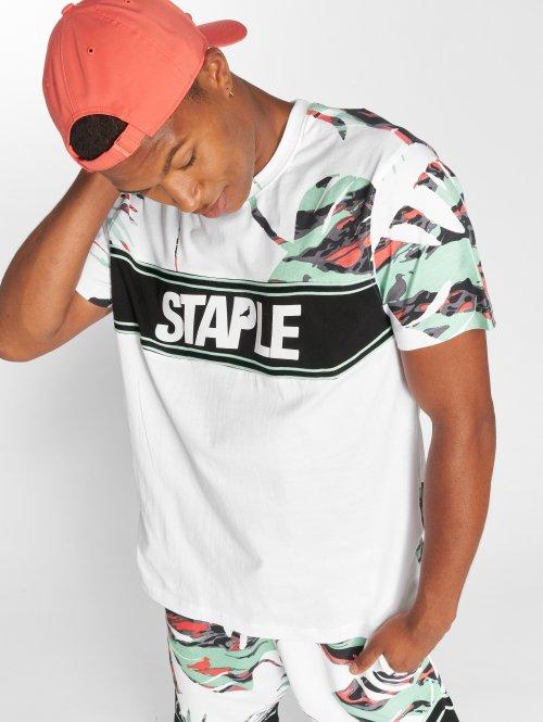 Staple Pigeon T-shirt Jungle bianco