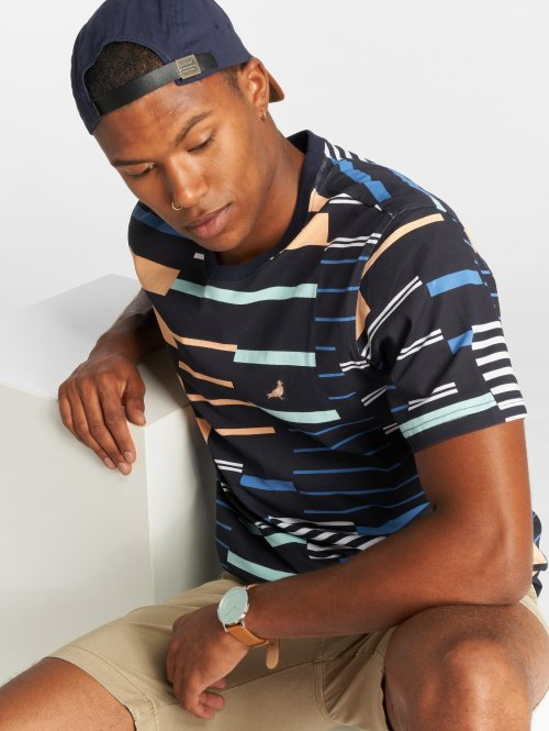 Staple Pigeon T-shirt Sport Stripe blå