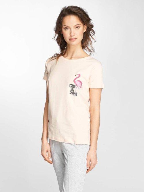 Stitch & Soul T-Shirt Flamingo rosa