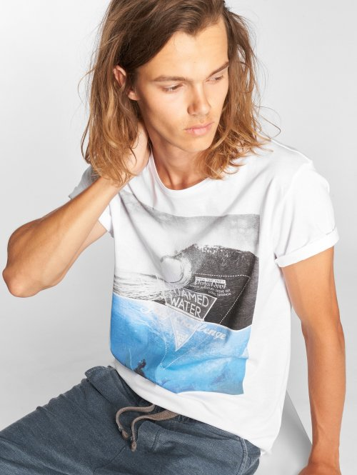 Stitch & Soul T-skjorter Graphic hvit