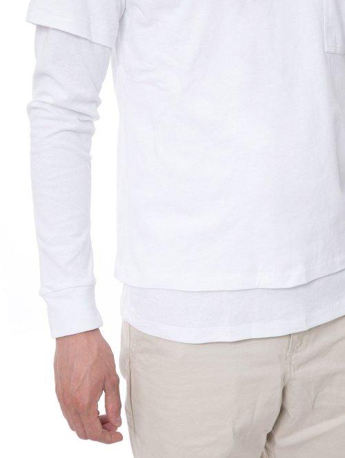 Stüssy T-Shirt O'Dyed Double weiß
