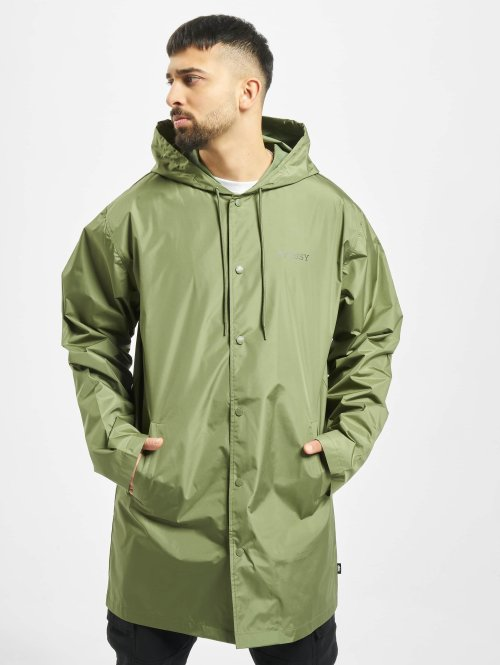Stüssy Winterjacke Tony Long Hooded Coach Jacket grün