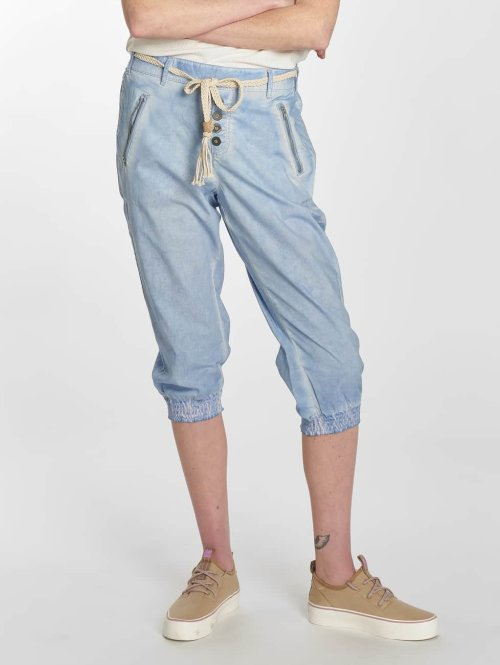 Sublevel Shortsit Washed sininen