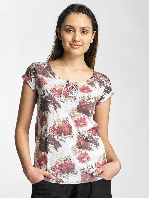 Sublevel T-Shirt Roses grau