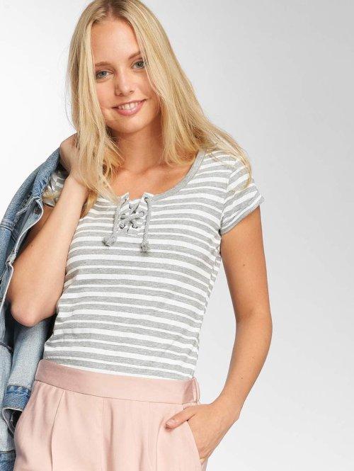 Sublevel t-shirt Stripes grijs