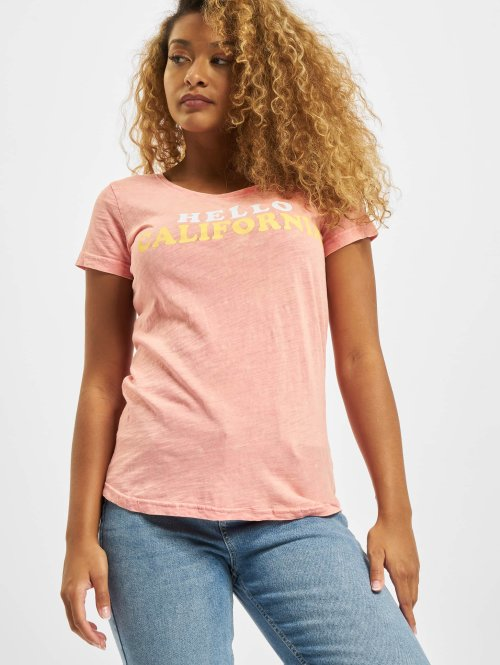 Sublevel T-shirts Hello pink