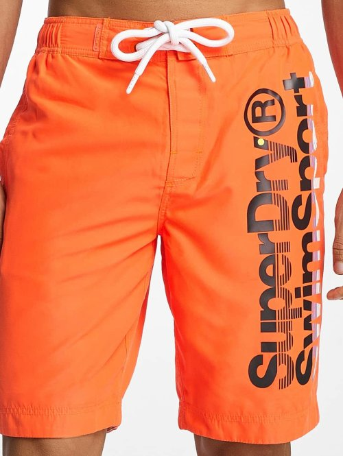 Superdry Short de bain Board orange
