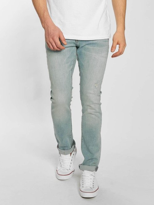 Superdry Slim Fit Jeans Vintage blau