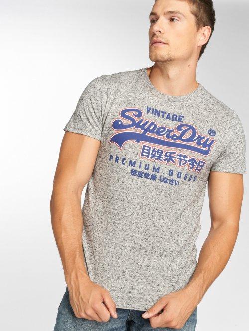 Superdry T-skjorter Goods Out Line grå