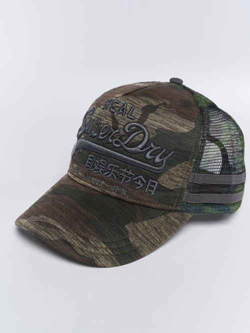 Superdry Trucker Caps Vintage Logo Edition camouflage
