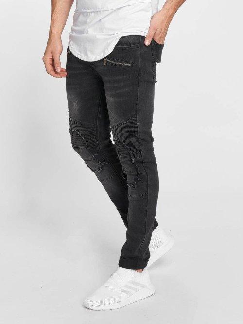 Terance Kole Skinny Jeans Zoltan schwarz