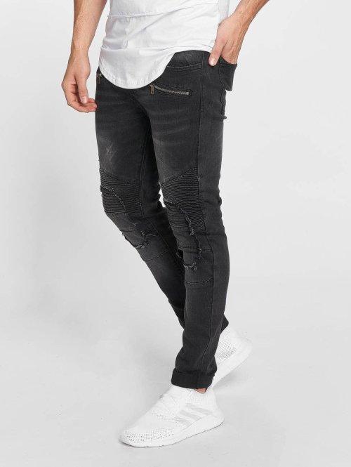 Terance Kole Skinny jeans Zoltan zwart