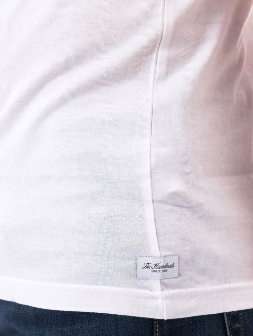 The Hundreds T-Shirt Perfect Pocket weiß