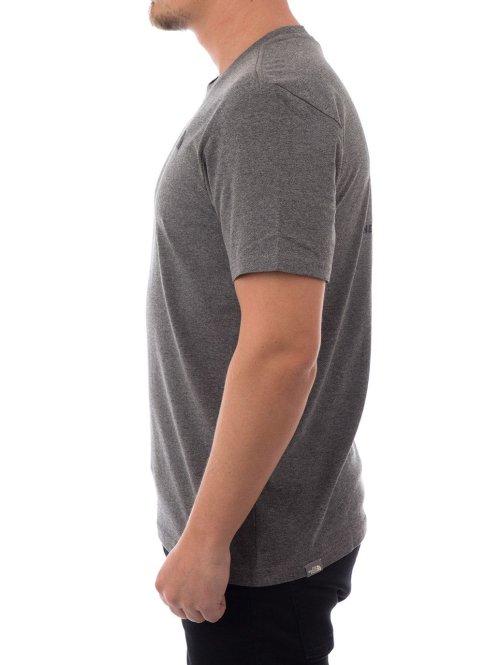 The North Face T-Shirt Face M Ss grau