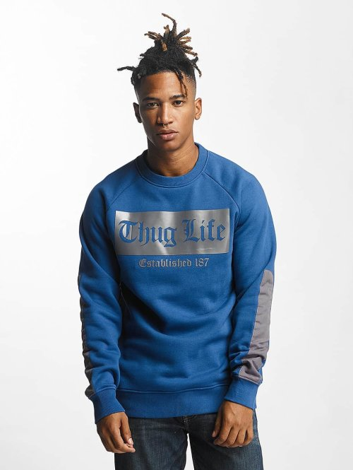 Thug Life Pullover THGLFE blau