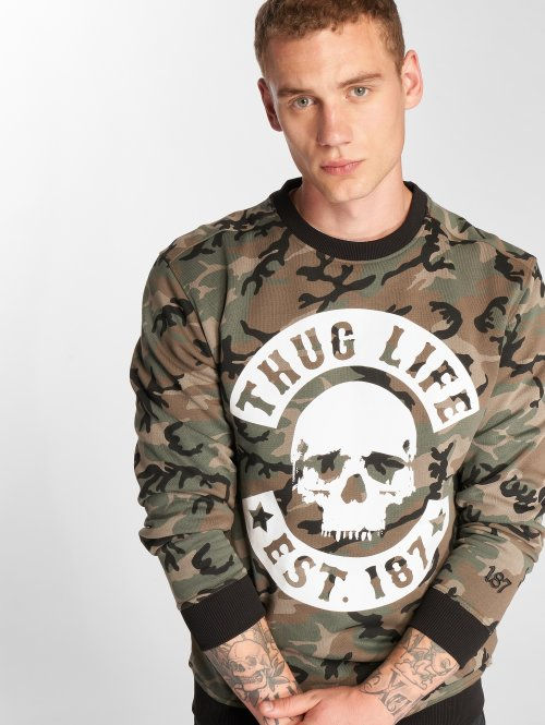 Thug Life Pullover B.Camo camouflage
