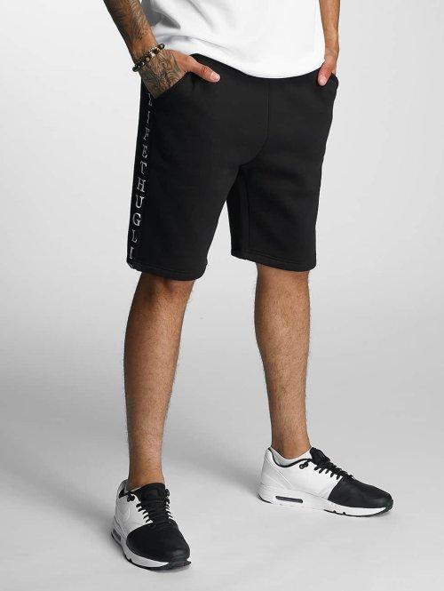 Thug Life Shorts Twostripes schwarz