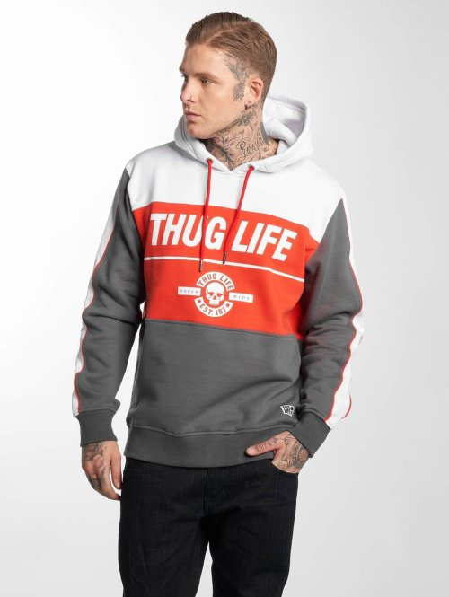 Thug Life Sweat capuche Jaguar gris