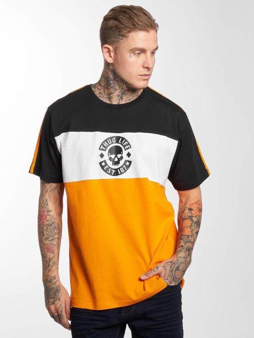 Thug Life T-Shirt Life Lion orange
