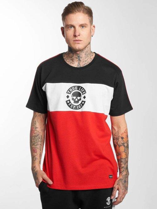 Thug Life T-Shirt Lion rot