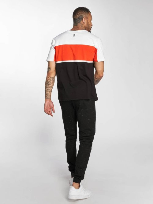 Thug Life T-Shirt Leopard schwarz