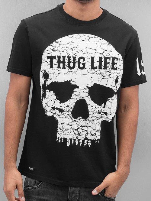 Thug Life t-shirt Thugstyle zwart