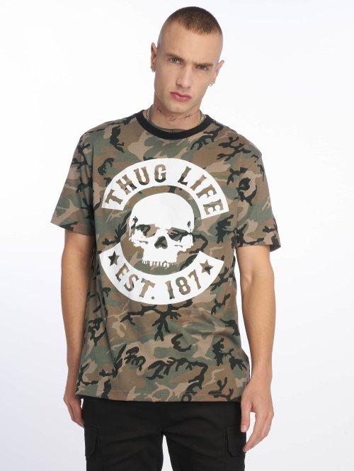 Thug Life T-shirts B. Camo camouflage