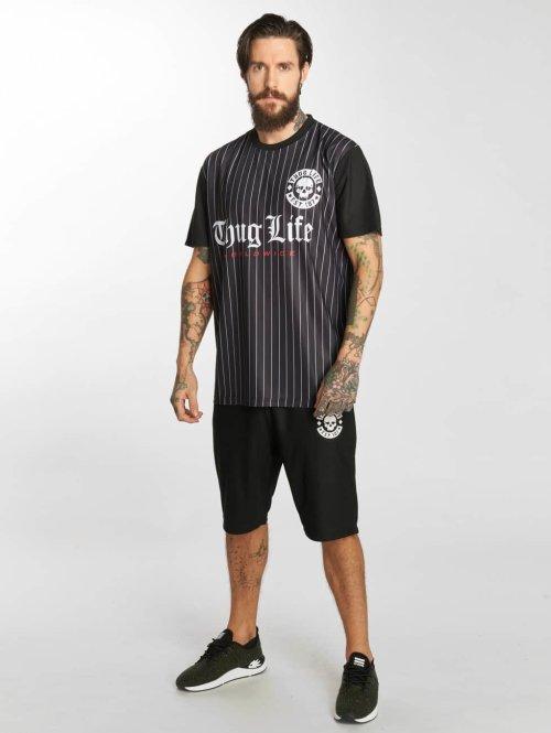 Thug Life Trainingspak Trikot zwart