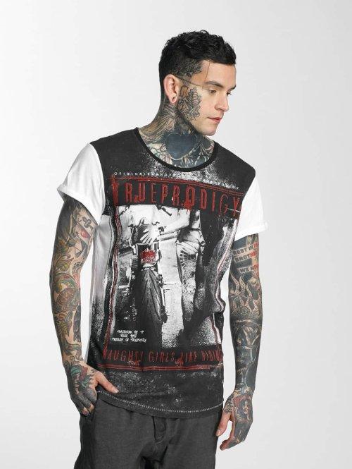 trueprodigy T-Shirt Riding II weiß