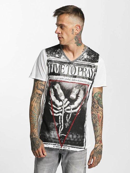 trueprodigy T-Shirt Time To Pray weiß