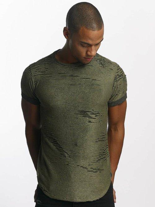 Uniplay t-shirt Diced khaki