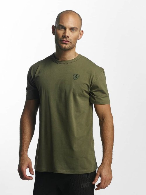 Unkut T-shirt Quartz grön