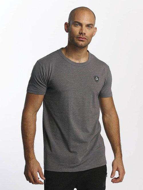 Unkut T-skjorter Quartz grå