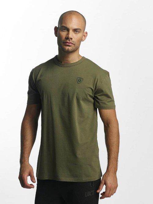 Unkut T-skjorter Quartz grøn