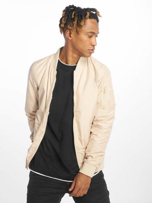 Urban Classics Демисезонная куртка Light бежевый