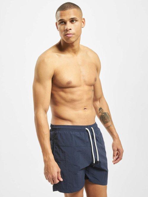Urban Classics Boxer da mare Block blu