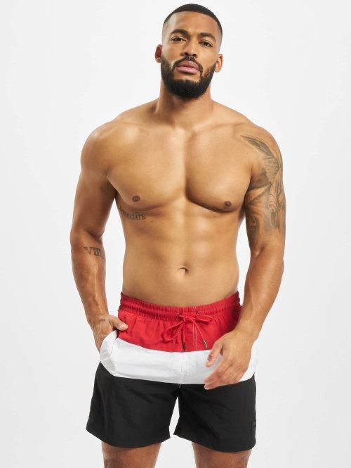 Urban Classics Boxer da mare Color Block nero